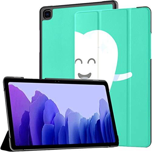 Healthy Cute Tooth Dentist Superhero Samsung Galaxy Tab A7 10.4 2020 Funda Galaxy Tab A7 Fundas para tabletas de 10.4 Pulgadas Fundas Galaxy Tab A con activación automática/Reposo Fundas p