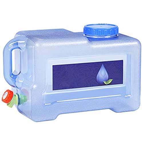 Contenitore Per L'acqua All'aperto Per Il Campeggio, Borraccia Per La Conservazione Dell'acqua Da Campeggio, Senza BPA, Con Rubinetto Per L'escursionismo in Campeggio All'aperto, Caccia Al Picnic,5L