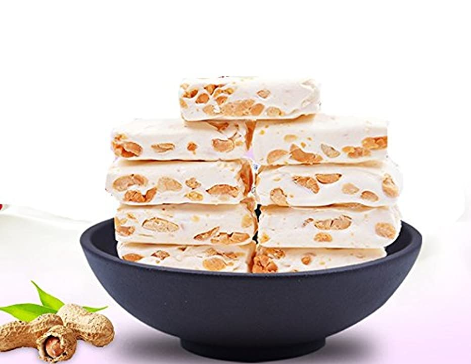 Chinese Specialty Snacks Peanuts Flavor Nougat 500g (17.6oz)