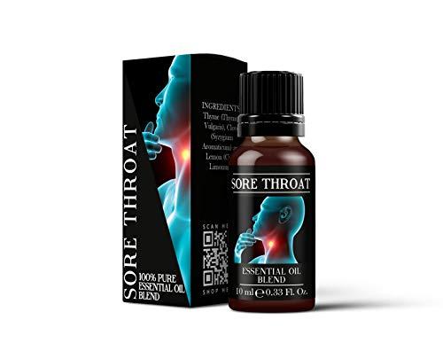 Mystic Moments HALSSCHMERZEN ätherisches Öl Blend-10ml-100% Pure