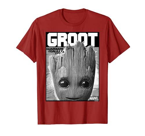 Marvel Guardians Vol. 2 Baby Groot Close-Up T-Shirt C1