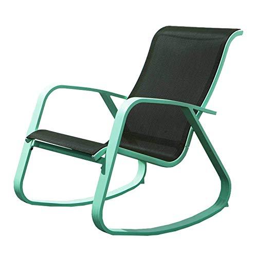 QWEA Mecedora de Interior, Mecedora de Madera Maciza, sofá, Mecedora Relajante, sillón, Silla de...