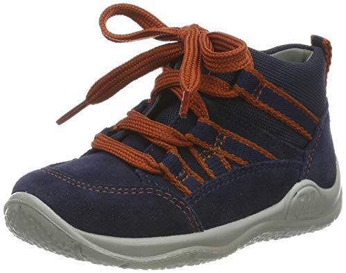 Superfit Baby Jungen Universe Lauflernschuhe Sneaker, Blau (Blau 80), 24 EU