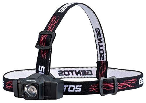 GENTOS(ジェントス) LED ヘッドライト 小型 【明るさ50ルーメン/実用点灯8時間】 単3形電池1本使用 GD-002D...