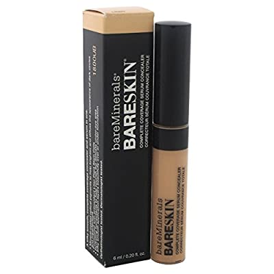 bareMinerals Bareskin Complete Coverage Serum Light Concealer for Women, 0.2 Ounce