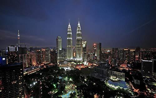 Lsping Puzzles educa 1000 Piezas Torres Petronas Kuala Lumpur Malasia