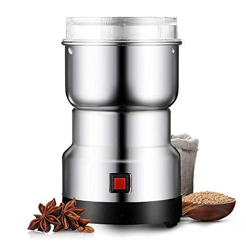 Molinillo de café eléctrico, granos de cocina, nueces, frijoles, especias y molinillos de granos, molinillos de café multifuncionales para el hogar