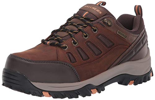 Skechers Men's RELMENT-SEMEGO Waterproof Hiker LO Hiking Shoe, CDB, 10 Medium US