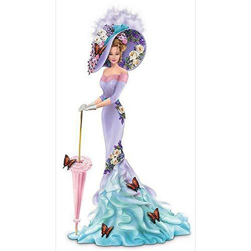 NAIMOER Kit de pintura de diamantes 5D, diseño de hadas, mariposas, ángel, perforación, pintura de diamante por número, kits de bordado, punto de cruz, manualidades, tamaño grande, 40,6 x 81,3 cm
