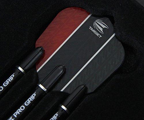 Target Darts Vapor 8 Black Softdarts, Rot - 6