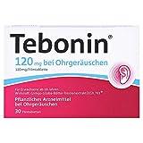TEBONIN 120 mg bei Ohrgeräuschen Filmtabletten 30 St Filmtabletten