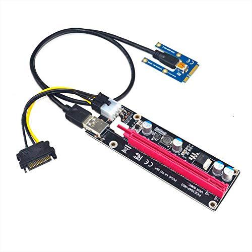 ACAMPTAR PCIe zu PCI Express 16X Riser für Laptop Externe Grafik Karte EXP GDC BTC Miner MPCIe zu PCI-E Slot Mining Karte