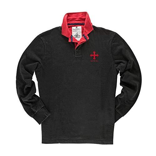 Black&Blue 1871 Founding 13 Rugby-Shirts Gr. M, Law Club