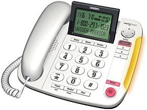 Uniden Big Button Desktop Corded Phone - (CEZ260 W)