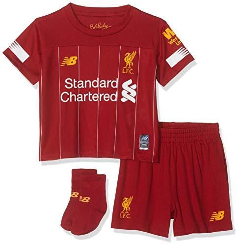 New Balance - Juego de Kit para niños (2019/20 del Liverpool FC, Unisex niños, Set, BY930009, Hogar, 6-12 Meses