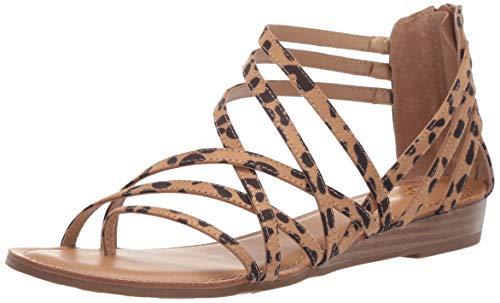Price comparison product image Carlos by Carlos Santana Women's Amara Sandal,  Leopard,  9.5 Medium US