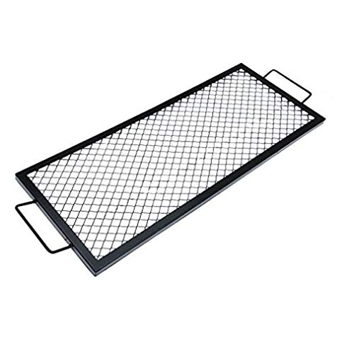 onlyfire Barbecue Rectangle X-Marks Fire Pit Cooking Grate, 36-Inch