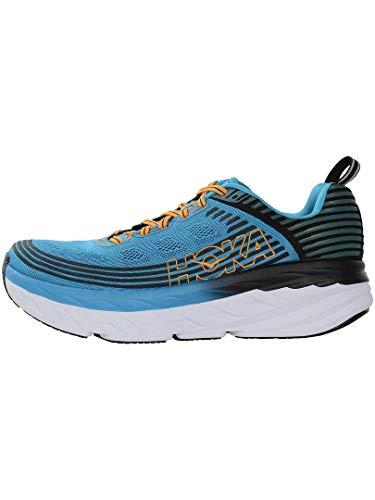 Hoka Bondi 6, Zapatillas de Running por Hombre, Azul (DresdenBlue/Black DBBC), 42 EU