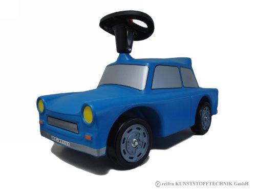 Babyrutscher Trabant blau - reifra - Made in Germany - Plasticart