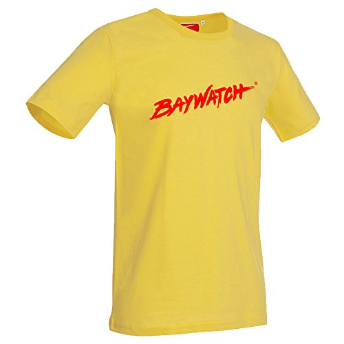 Lifeguardgear Baywatch® T-Shirt 2015 Gr. M, gelb