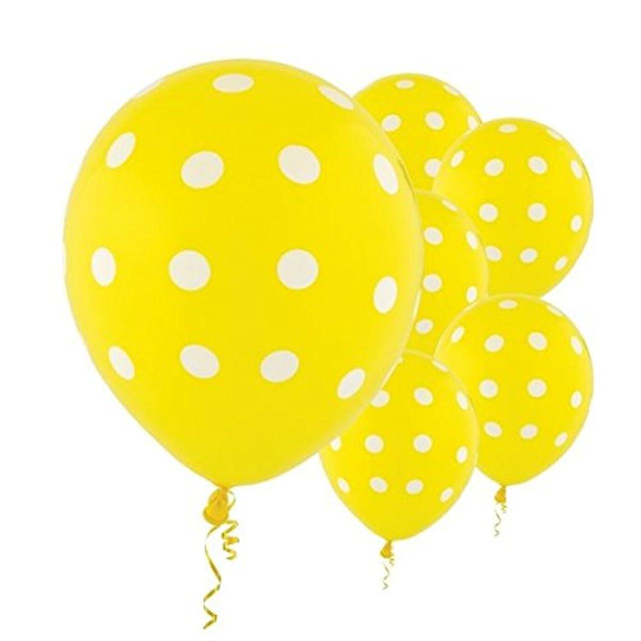 Amscan Polka Dots Party Balloons, 12