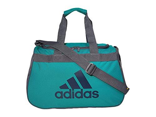 adidas Limited Edition Diablo Small Duffel Gym Bag in Bold Colors - (Lab Green/Petrol Night/Onix)