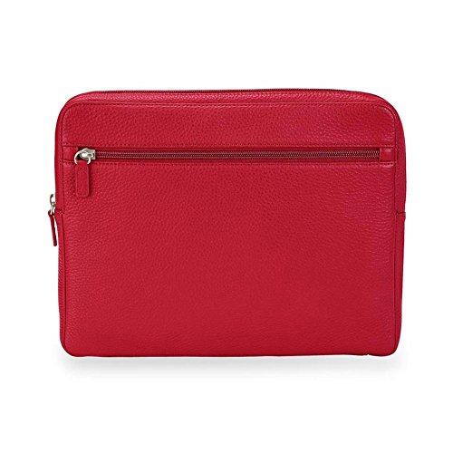 Levenger Luxe Tech Folio - Air - Portfolio Briefcase, Red (AL14315 RD NM)