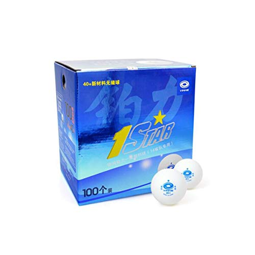 Why Should You Buy SHENGSHIHUIZHONG One star table tennis, seamless seam 40+ new material, 100 packs...