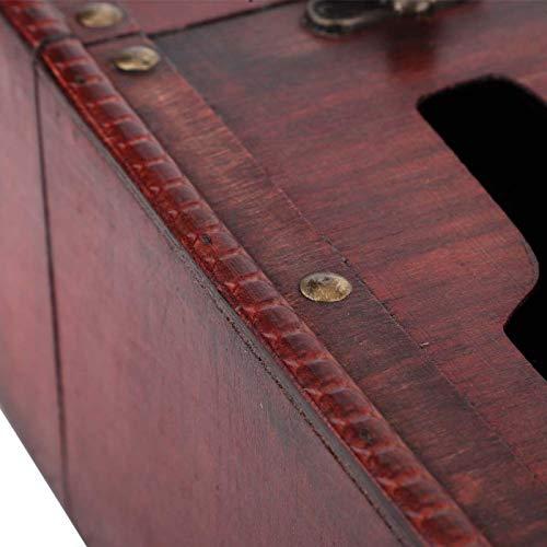 SUCIE Caja de Vino, Caja de Vino, Vintage para Llevar como Paquete de Vino Caja de Almacenamiento de Vino Vino Tinto