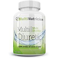 Multi Diuretic con vitamina B6 - Quemagrasas - Diurético - Antioxindante - Salud del sistema urinario  100% natural y vegetal  (180)