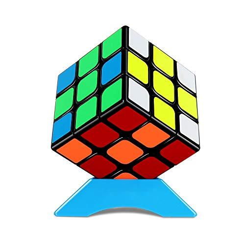 QiYi Magic Cube 3x3 立体パズル 競技用 3x3 (5.6cm 簡易版) 対象年齢:6歳以上