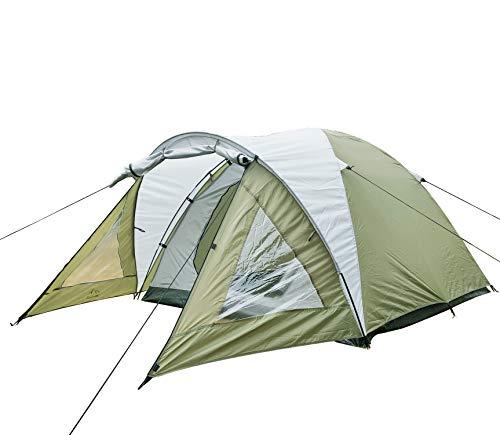 Climecare Zelte 2-3 Personen, Kuppelzelt 3 Jahreszeiten Outdoor Campingzelt Iglu-Zelt,doppelschichtig Wasserdichtes, 210x210x135cm