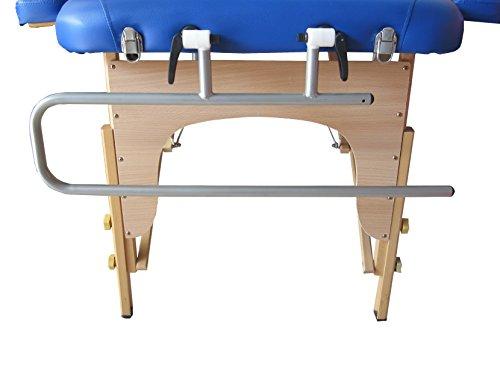 POLIRONESHOP PR15 Portarrollos para tumbonas plegables soporte rollo papel camilla masaje plegable
