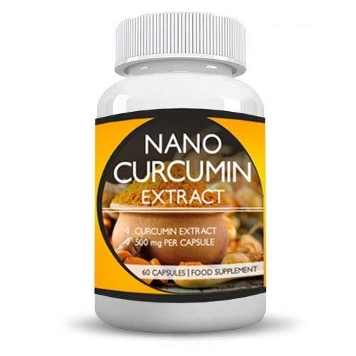 Health first Nano Curcumin Turmeric 1000mg with Black Pepper - 60 Vegan...
