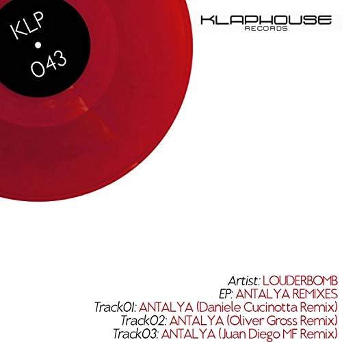 Louderbomb, Daniele Cucinotta, Oliver Groß & Juan Diego MF