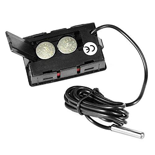 Termómetro digital de acero para nevera y congelador de Inrigorous ...