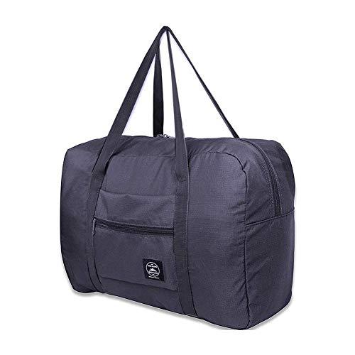 LINKLANK Sac de voyage pliable, pour bagages, gym, sport, léger, pliable, en tissu Oxford, grande capacité, résistant à l'eau, pour homme et femme