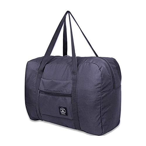 LINKLANK Foldable Travel Bag, For Luggage Gym Sports Lightweight Packable Carry On Travel Oxford Cloth Bag With Big Capacity Water Resistant For Men And Women