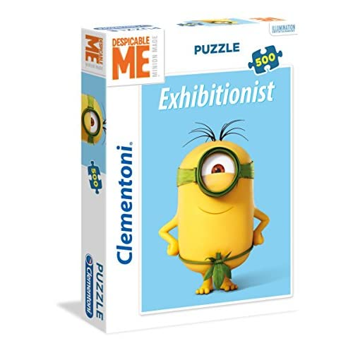Clementoni 2 Despicable Me/Minions High Quality Collection Puzzle, 500 pezzi, 35031