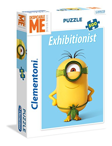 Clementoni- Minions 2 High Quality Collection Puzzle, 500 pezzi, 35031