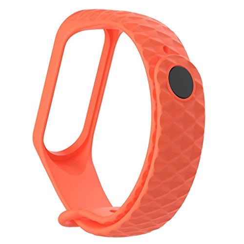 ZYElroy Pour Xiaomi Mi Band 3 TPU coloré bracelet bracelet de rechange intelligente montre de sport Poignet