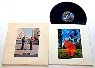 Pink Floyd WISH YOU WERE HERE - Columbia Records 1975 - USED Vinyl LP Record - 1975 Pressing - Roger Waters - David Gilmour - Rick Wright - Nick Mason - Have A Cigar - Shine On You Crazy Diamond