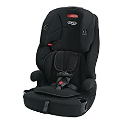 Three seats in one: 5 Point harnessed car seat, high back belt positioning booster seat and backless belt positioning booster car seat Converts from 5 Point harnessed car seat (22 to 65 pounds) to high back belt positioning booster (30 to 100 pounds)...