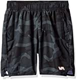RVCA Boys' Big YOGGER III Short, camo, M
