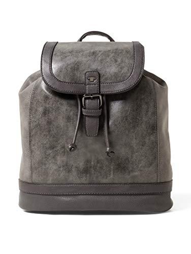 Tom Tailor Acc Damen Juna Rucksackhandtasche, Grau (Grau), 12x32x31 cm