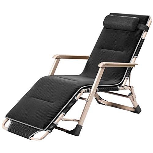 LLDKA Ligstoel voor buiten, inklapbaar, relaxstoelen, camping