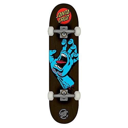 SANTA CRUZ Screaming Hand 8.125' Black Skateboard Complet - 8.125'