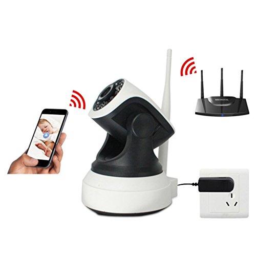 Weiß 720P HD 1 Millone Di Capelli Drahtlose Überwachungskameras, Alarmanlage Infrarot Eine Bewegung Der Alarmerkennung Dome Überwachungskamera Versteckte Überwachungskameras