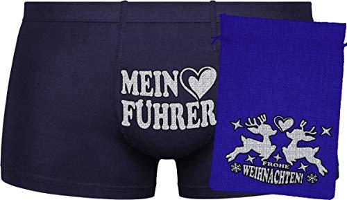Herr Plavkin Mein Führer | zufällige Auswahl an Farben (Gray, ORANGE) | Blue Bag ''Frohe Weihnachten''