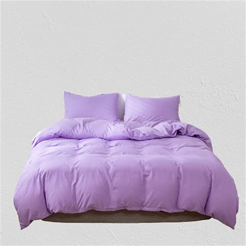 Ropa De Cama De Estilo Europeo Textiles para El Hogar Funda Nórdica De Color Puro Ambiente Simple Elegante Duradero Y Fácil De Limpiar 220x240cm